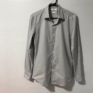 Uniqlo Men's Slim Fit Button-up Shirt Size XS
